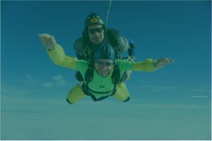 Mike Honour skydive