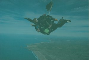 Richard Ward skydive for Cornwall Hospice Care