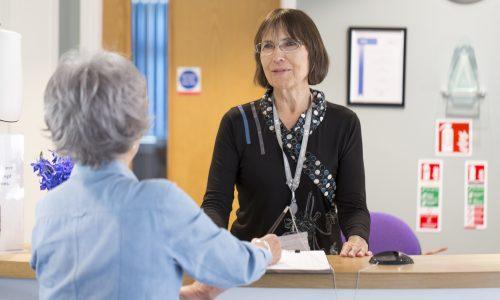 Jane Stubberfield Hospice Reception
